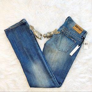 Buffalo David Bitton Jem Low Rise Bootcut Jeans